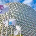 Original Epcot icon design flags debut at reimagined park entrance