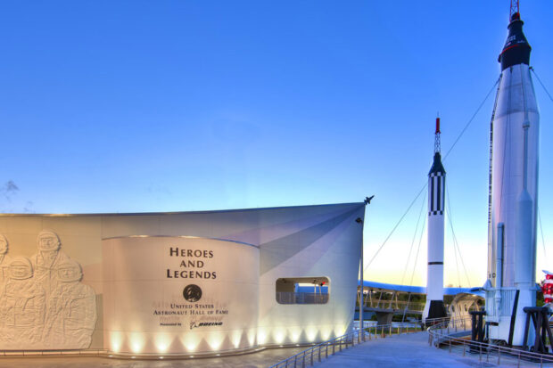 Kennedy Space Center Visitor Complex Heroes and Legends