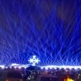 Light up the night at Six Flags' Drive-In Laser Light Spectacular