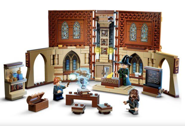 Lego Hogwarts Moment Transfiguration class