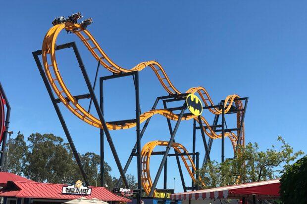 Six Flags Discovery Kingdom BATMAN: The Ride