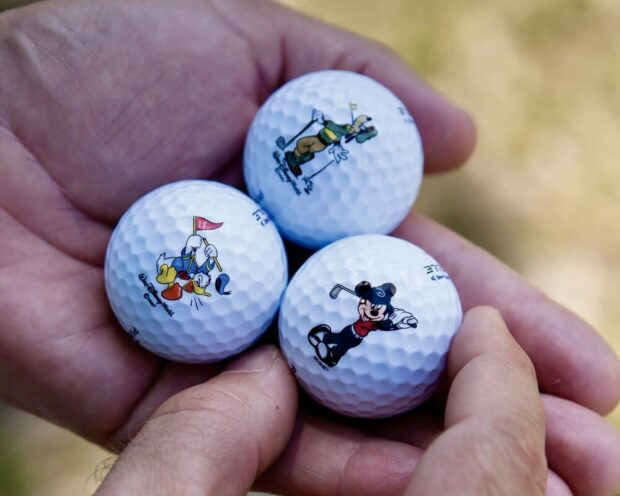 Walt Disney World Golf Disney Character Golf Balls