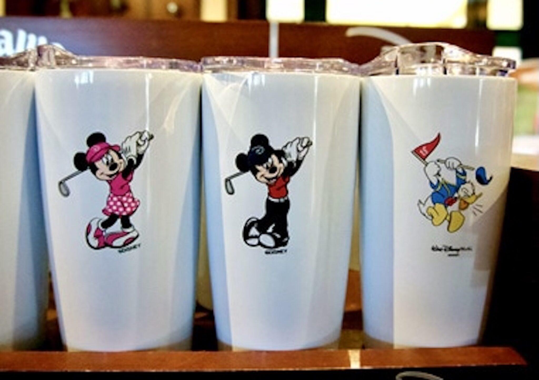 Walt Disney World Golf Disney Character Tumblers