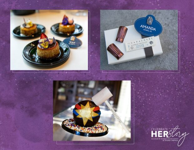 Check out these female-created treats all over Disney Springs. Photo courtesy of the Disney Parks Blog.
