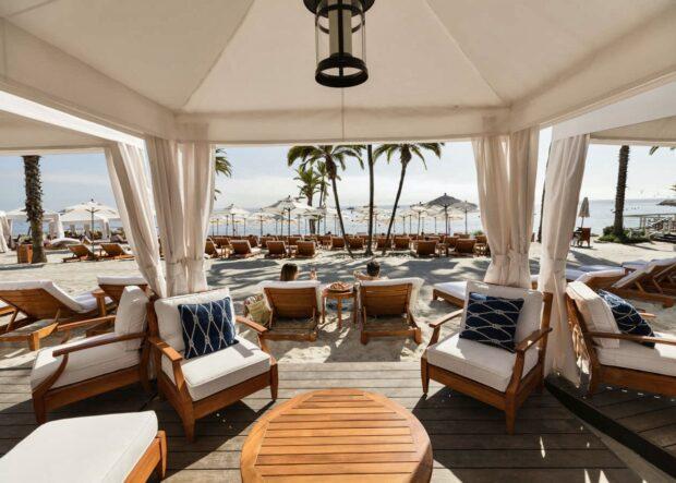 Descanso Beach Club Cabana Catalina Island
