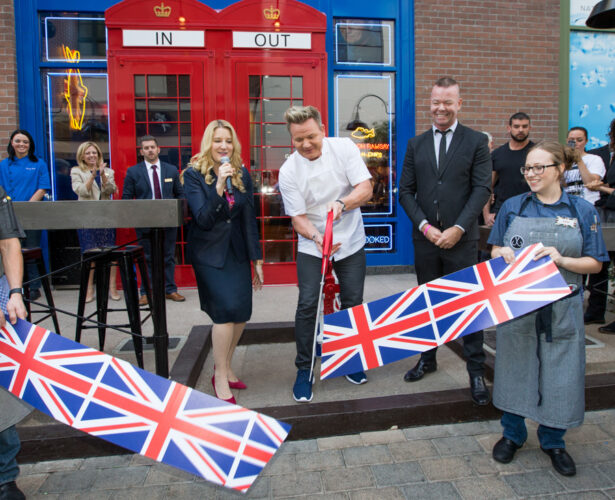 Gordon Ramsay restaurant opening