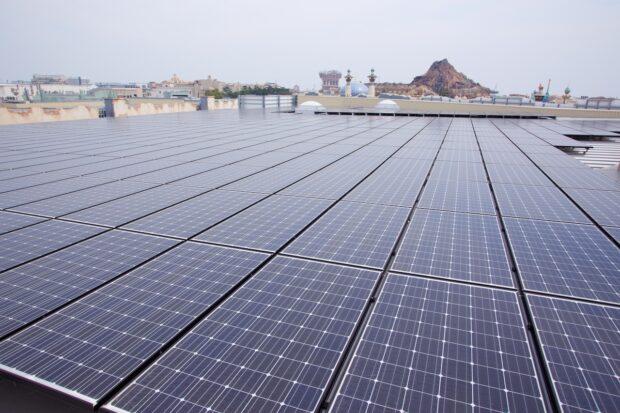 Tokyo Disney Solar Panels