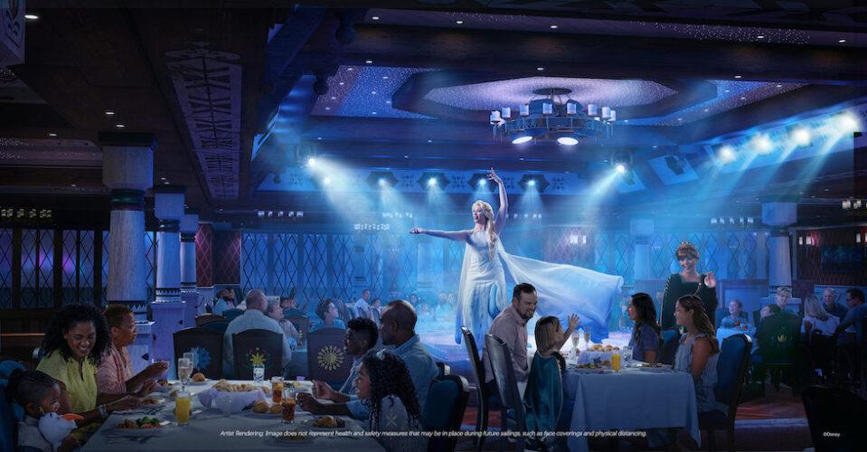 arendelle a frozen dining adventure