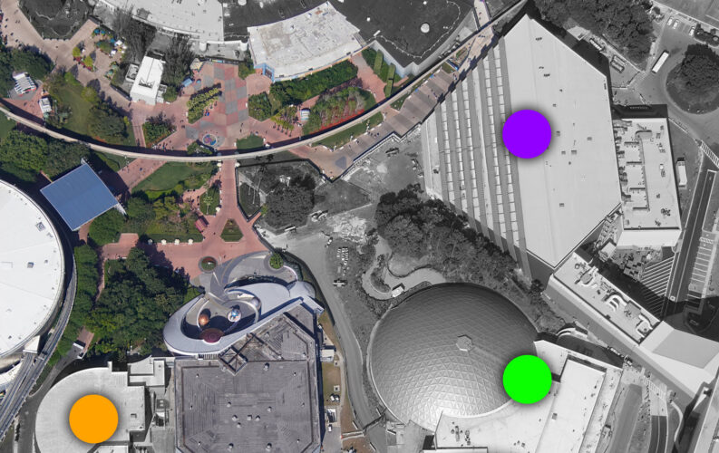 Current projects in the works at Epcot.
