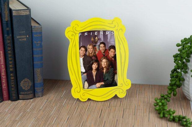Iconic Friends apartment door frame.
