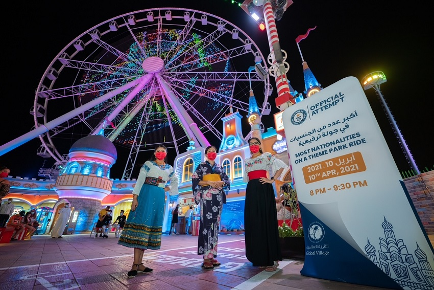 Global Village sets Guinness World Record