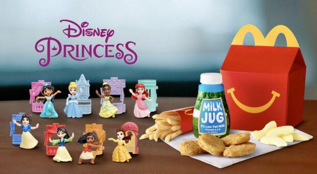 DIsney Princess Happy Meal