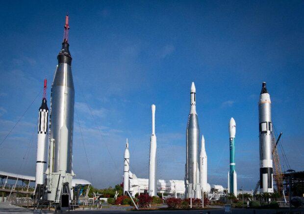 Kennedy Space Center Visitor Complex - Rocket Garden