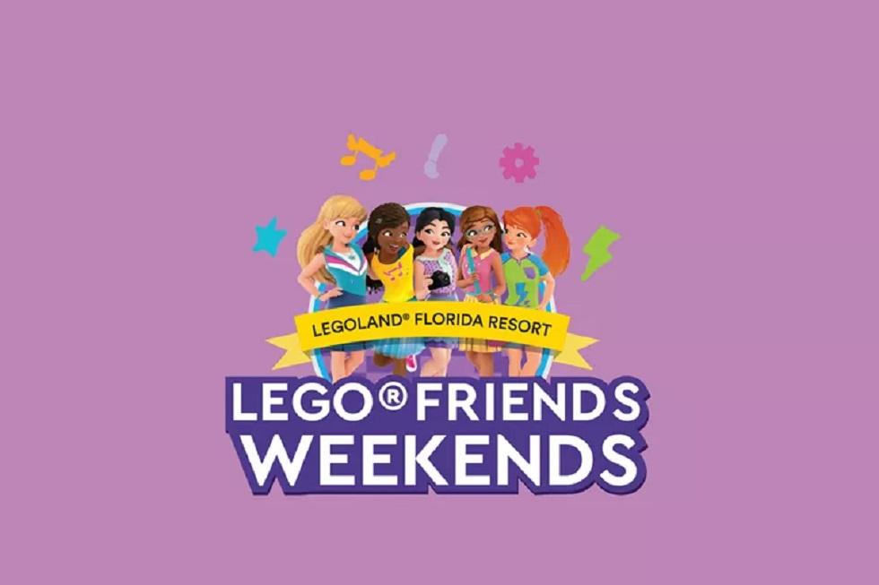 Lego Friends Weekend banner