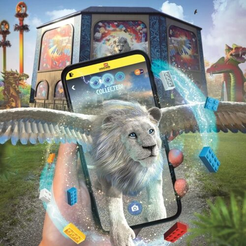 Lego Mythica Augmented Reality App Experience