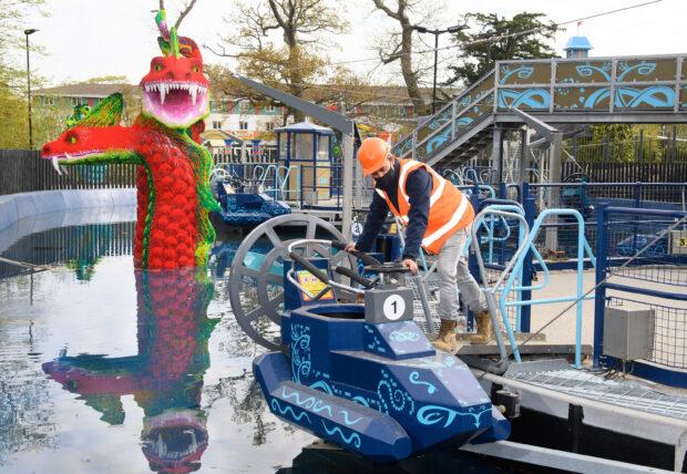 Legoland Windsor Lego Mythica Hydra's Challenge ride
