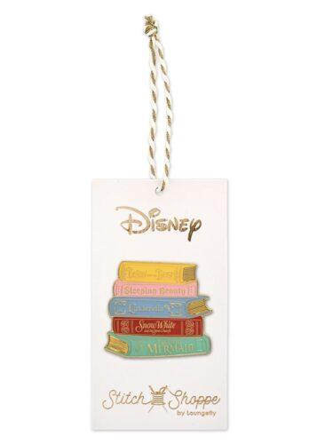 Loungefly Princess books pin