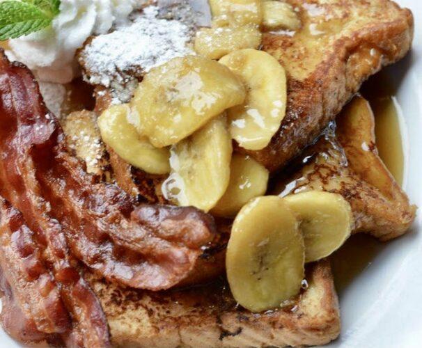 Ralph Brennan's Bananas Foster French Toast