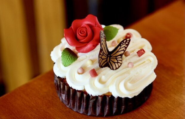 Mother's Day cupcake at Wilderness Lodge