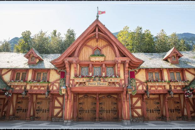 fantasyland forest theatre