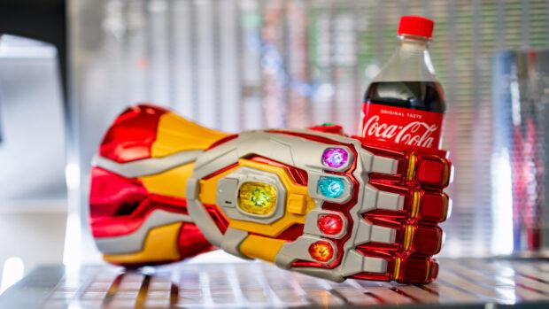 Avengers Campus - Iron Man gauntlet