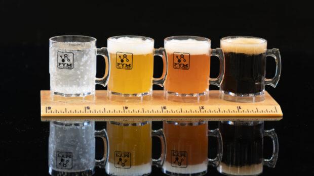 Mini beer flight