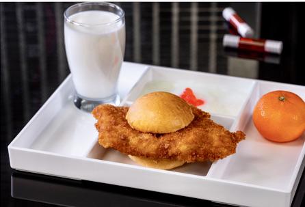 Avengers Campus - Subatomic chicken sandwich