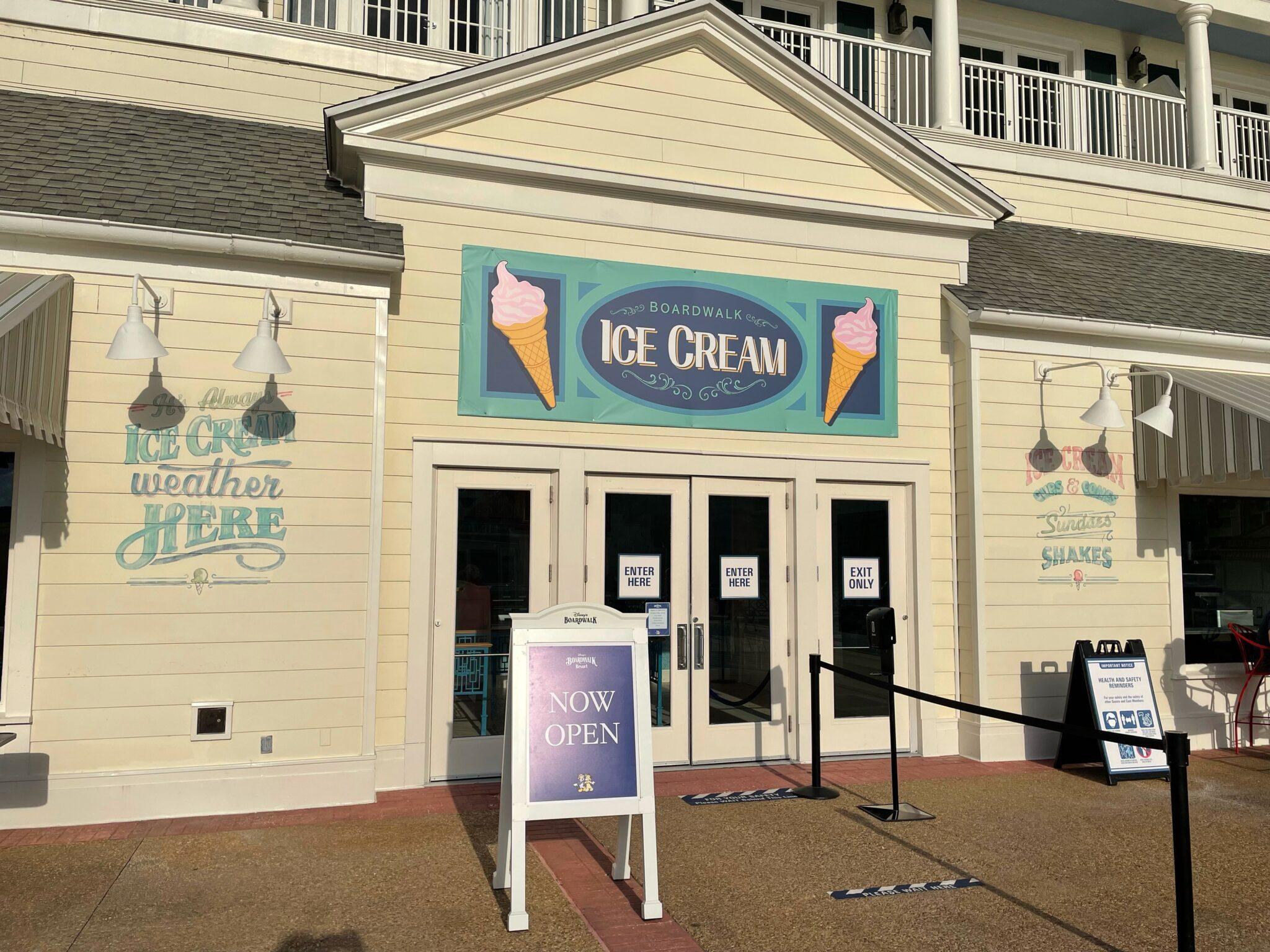 BoardWalk Ice Cream