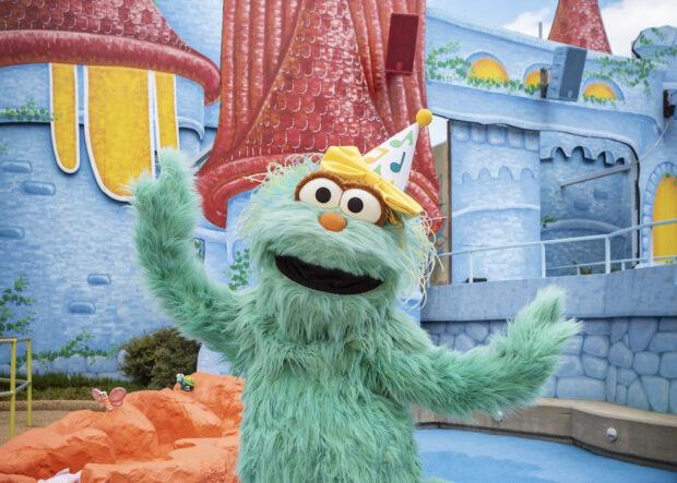Busch Gardens Williamsburg Sesame Street Kids' Weekends - Rosita