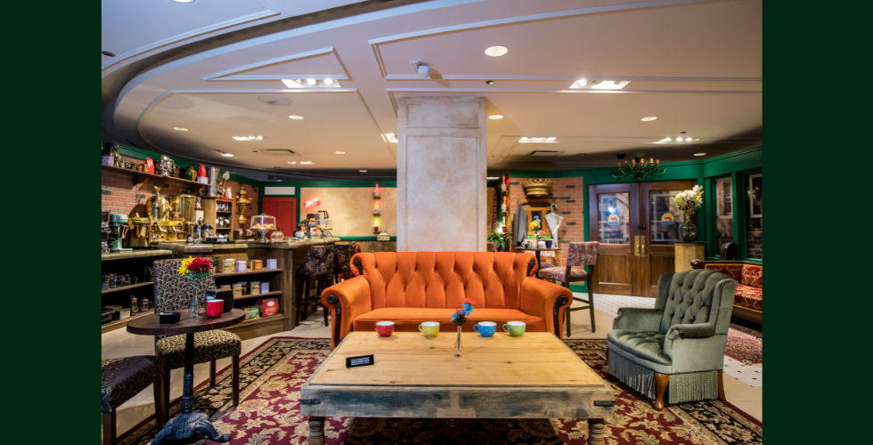 Take a seat in Central Perk in the FRIENDS Experience coming to Atlanta this July.