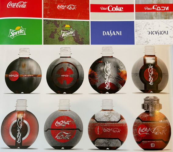Coca-Cola and Disney collaboration for Star Wars drinks/