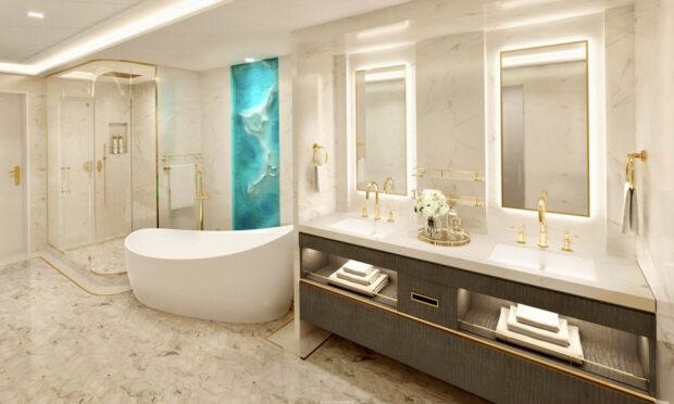 Disney Wish - Wish Tower Suite Bathroom
