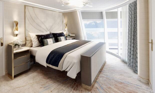 Disney Wish - Wish Tower Suite Bedroom