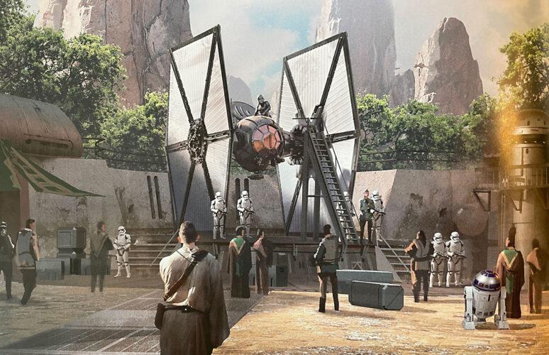 First Order Tie Fighter Area Star Wars Galaxy's Edge