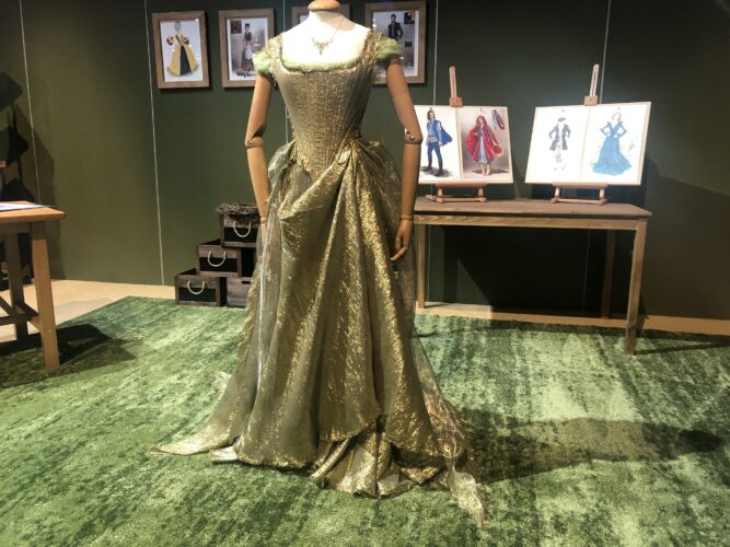 Heroes and Villains Disney Costume Exhibition - Cinderella gown from Into the Woods