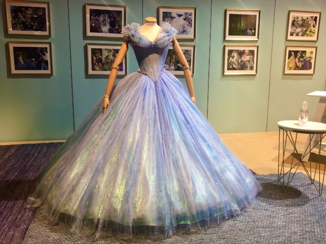 Heroes and Villains Disney Costume Exhibition - Cinderella Gown