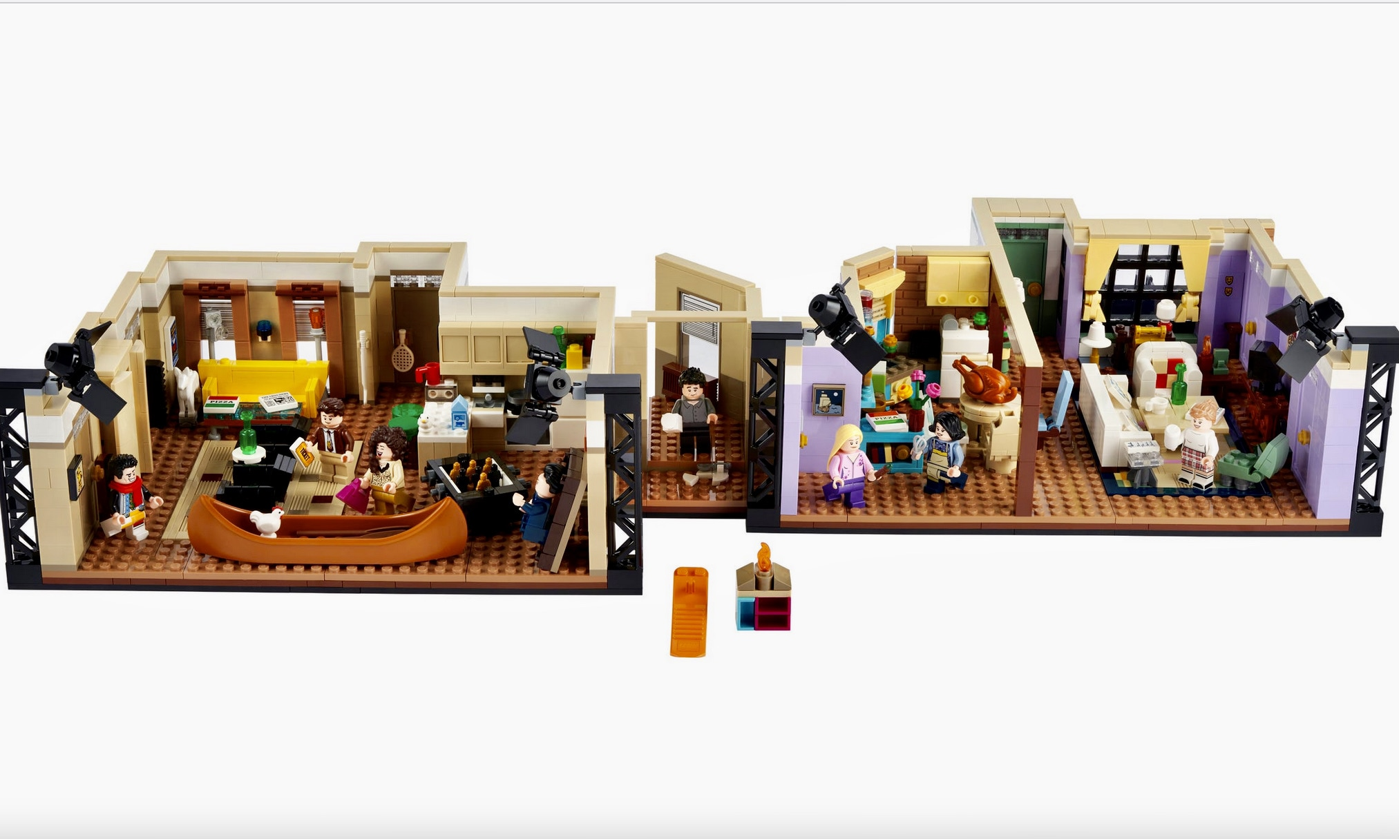 Lego Friends Apartments Set