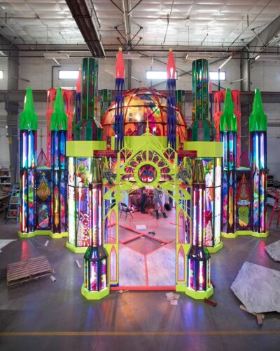 Meow Wolf Denver Cathedral installation