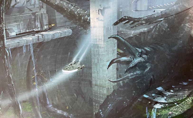 Millennium Falcon: Smuggler's Run mission concept for Star Wars Galaxy's Edge.