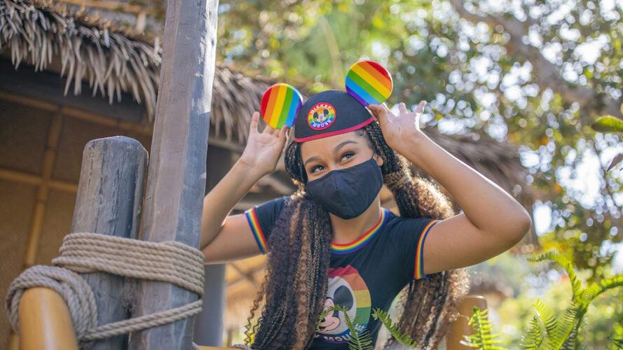 pride ear hat