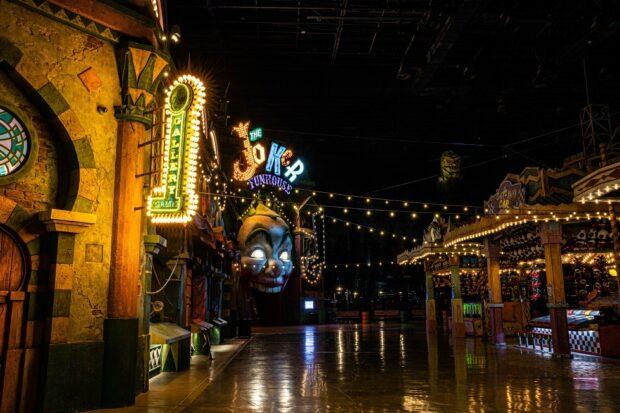 Gotham City Joker's Funhouse