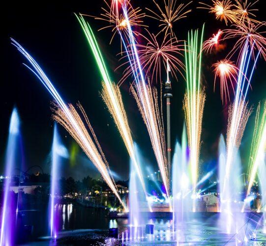 SeaWorld Electric Ocean Ignite fireworks
