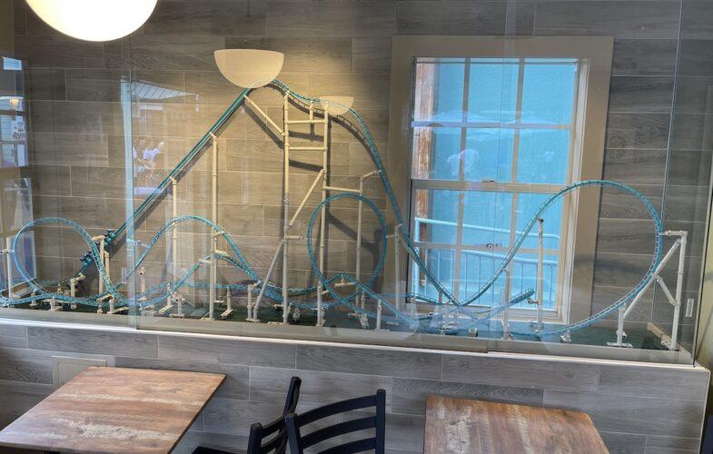 SeaWorld Coaster Coffee Co. Kraken model