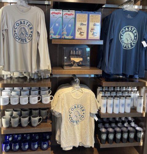 SeaWorld Coaster Coffee Co. merchandise