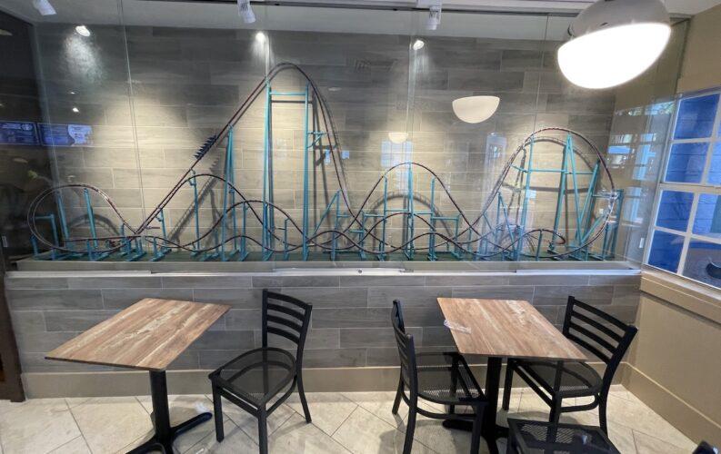 SeaWorld Coaster Coffee Co. Mako model
