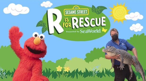 SeaWorld San Diego Sesame Street Weekends - R is for Rescue