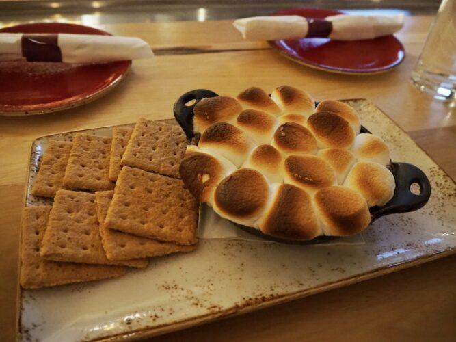 skillet s'mores fondue