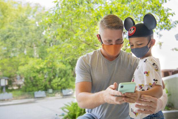 Disneyland app
