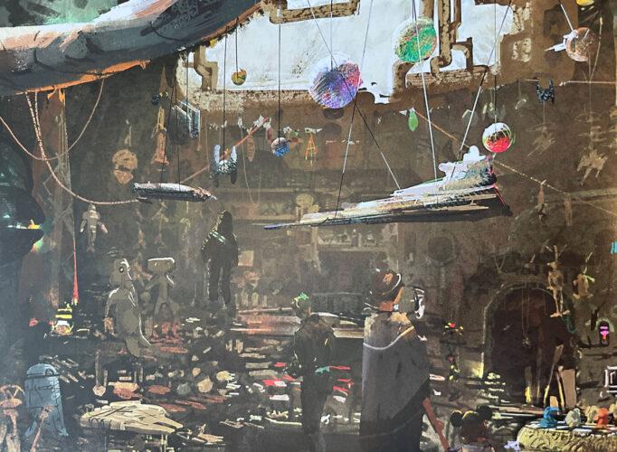 Toydarian Toymaker in the Black Spire Outpost.