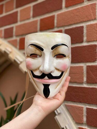 Italy pavilion V for Vendetta mask